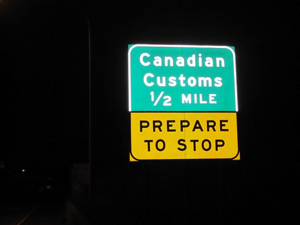 Canadian customs