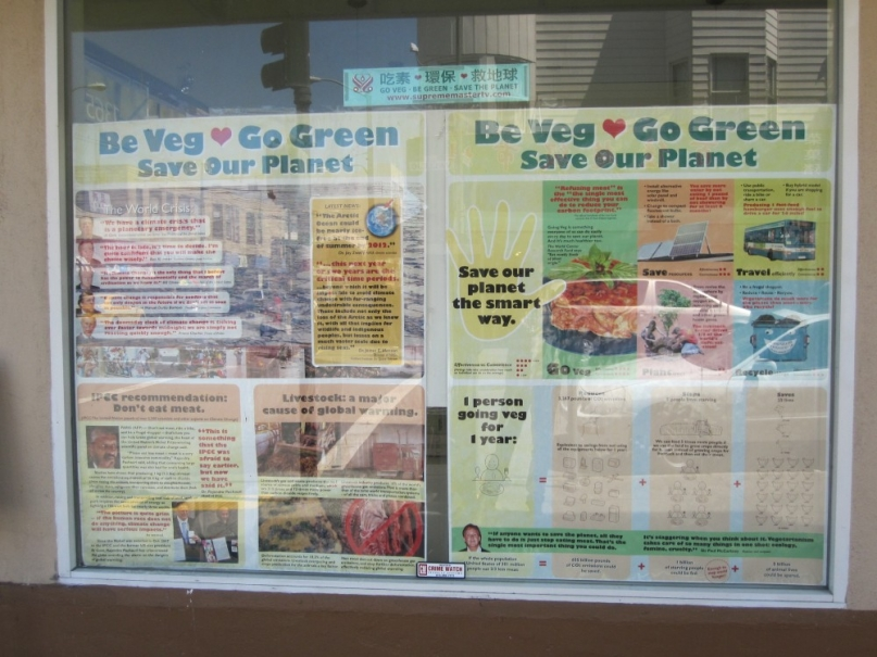 Be veg go green San Francisco