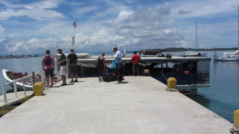 Kuna island pier