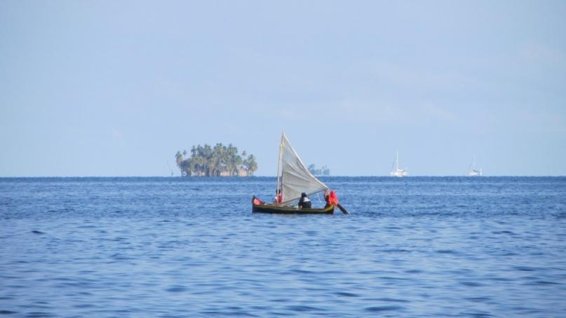 Kuna sailboat