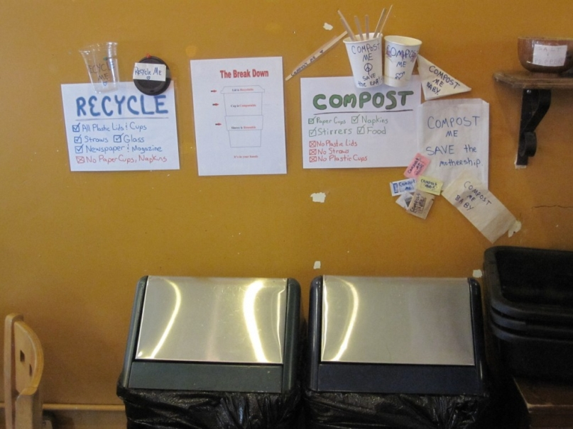 recycle bin at power to the people san francisco