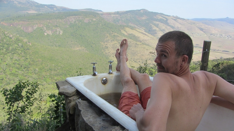 Bathtub away with the fairies hogsback