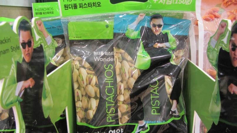 Gangnam Style pistachios
