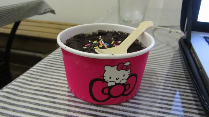Hello Kitty Ice cream