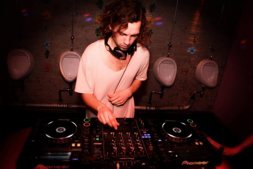 Club NYX Amsterdam Toilet DJ