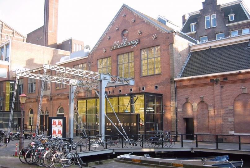 Melkweg Amsterdam Entrance