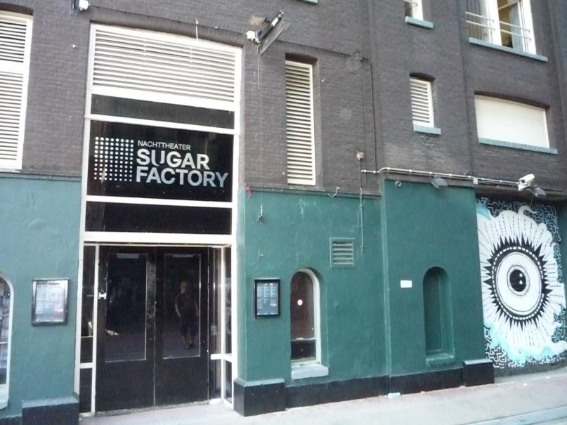 Sugarfactory Amsterdam front