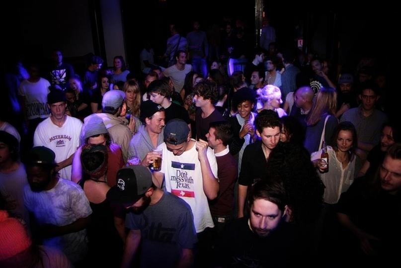 Bitterzoet Amsterdam club crowd