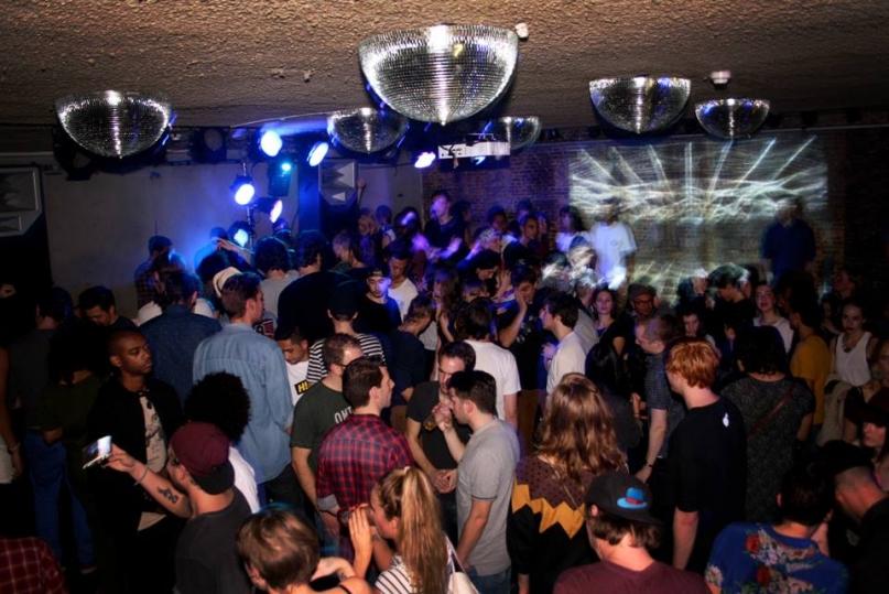 Club Up Amsterdam crowd