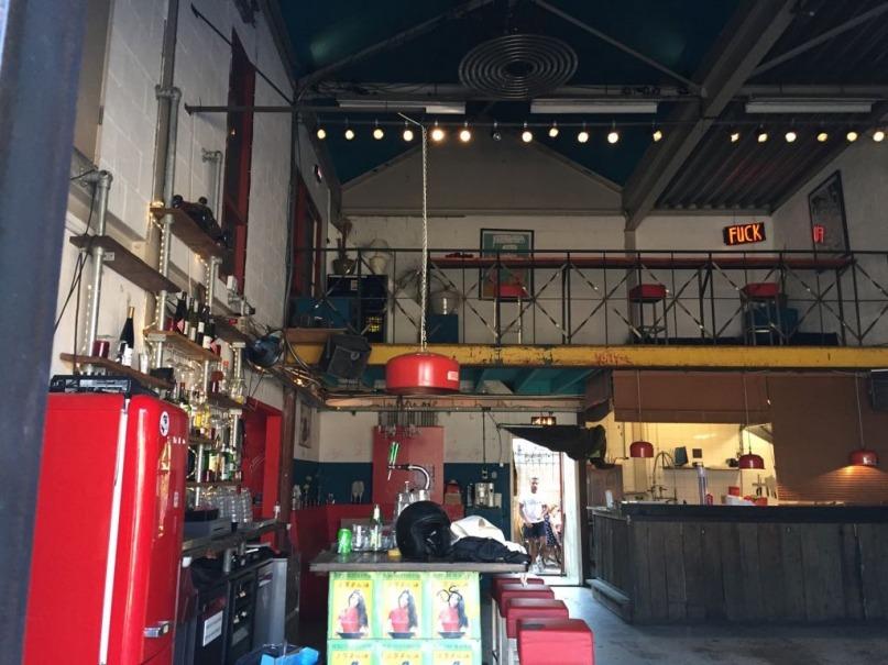 Garage Noord Amsterdam inside