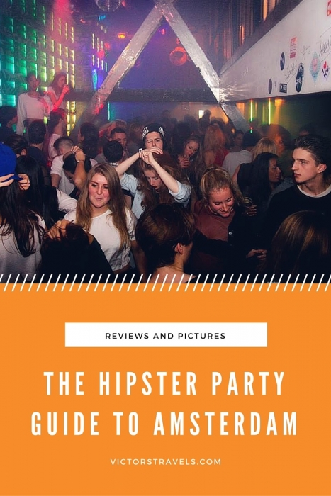 The Hipster Party Guide to Amsterdam