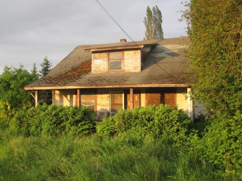 Abandoned house Marysland