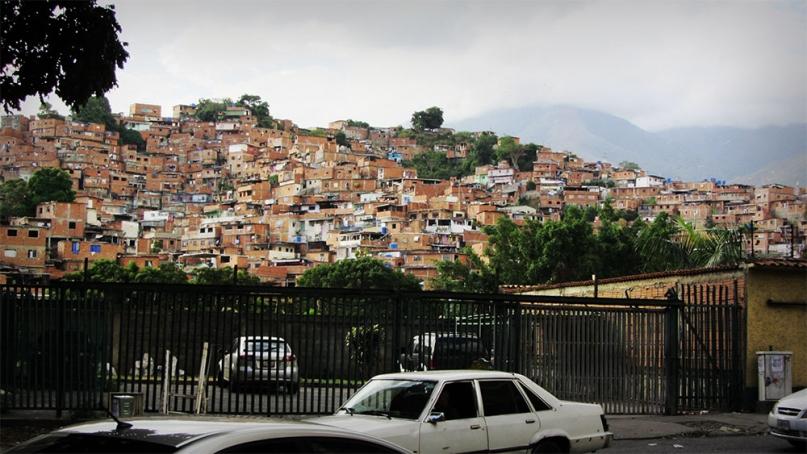 Barrios of Caracas Venezuela