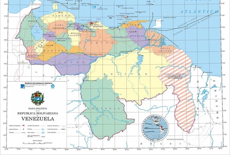 zone en reclamacion venezuela guyana