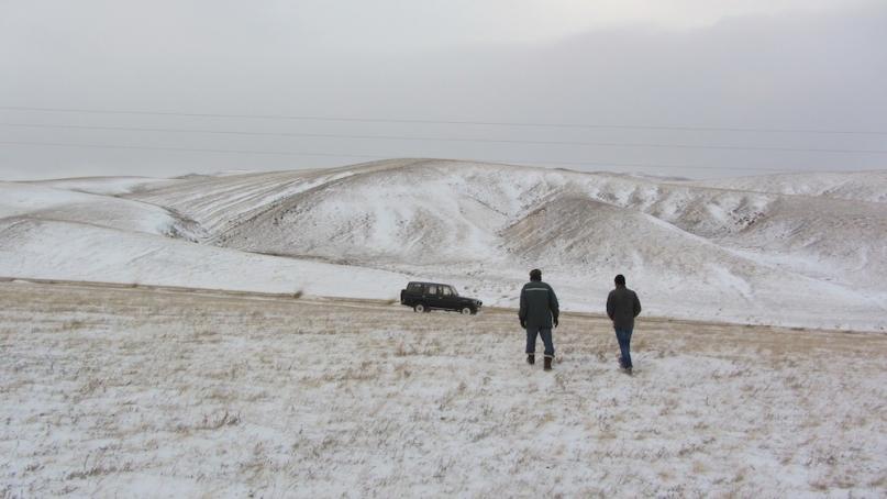 Chin guide khustain national park mongolia