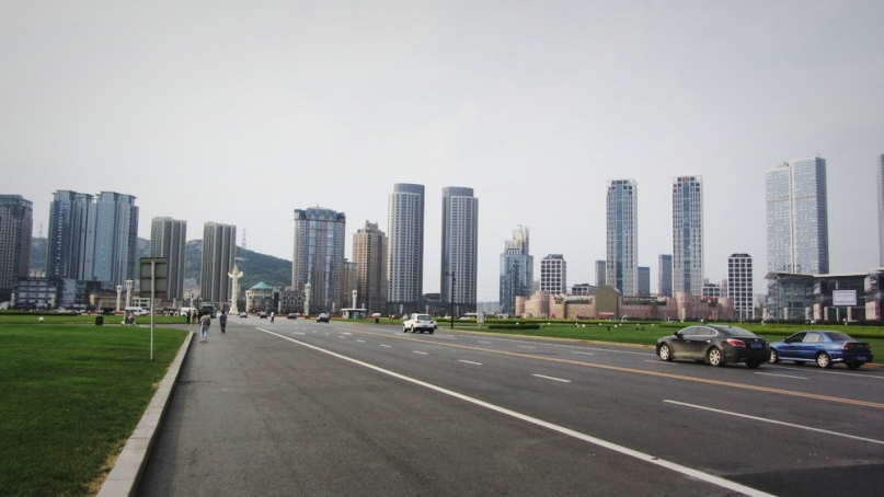 Xinghai square in Dalian