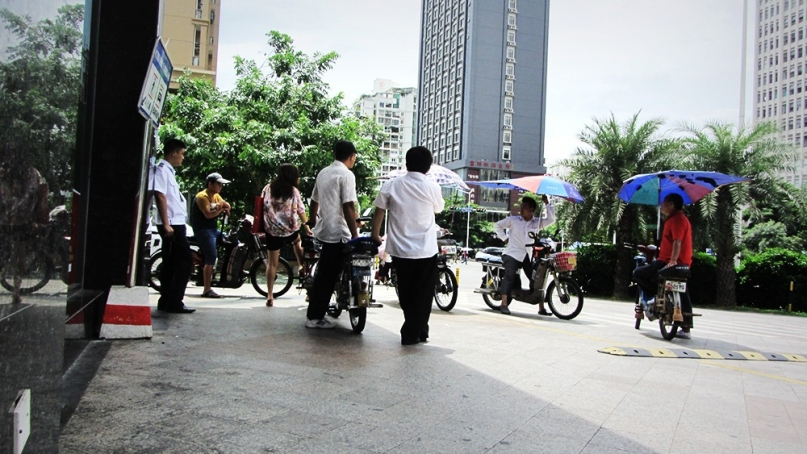 Shenzhen Motorbike Taxi