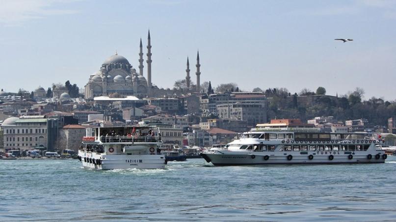 Istanbul Bosphorus Blue Mosque