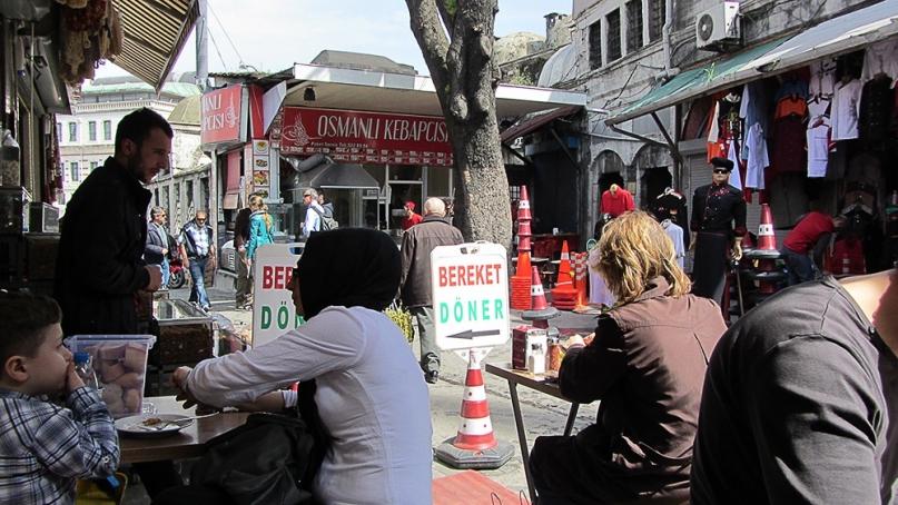 Yeni Cami Street Food Istanbul