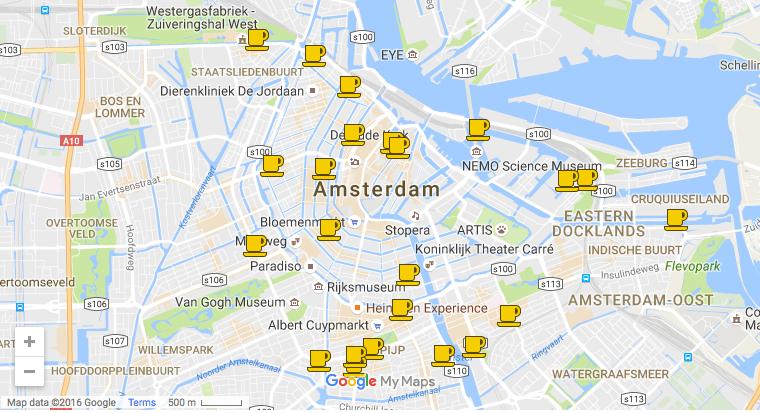 Cafés in Amsterdam