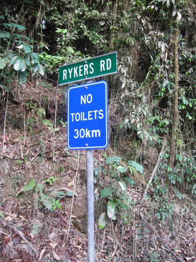 Cape tribulation Rykers road