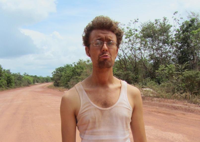 orange dirt road Guyana
