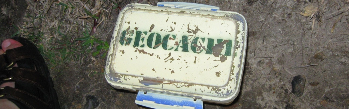 Geocaching: rediscover the world by finding treasures