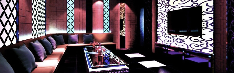 Three guys walk into a Chinese karaoke bar