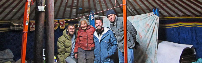 Stuck in the Mongolian desert
