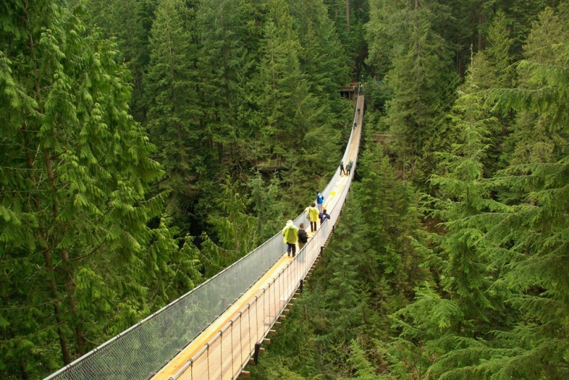 Capilano Suspension Bridge Vancouver, Canada