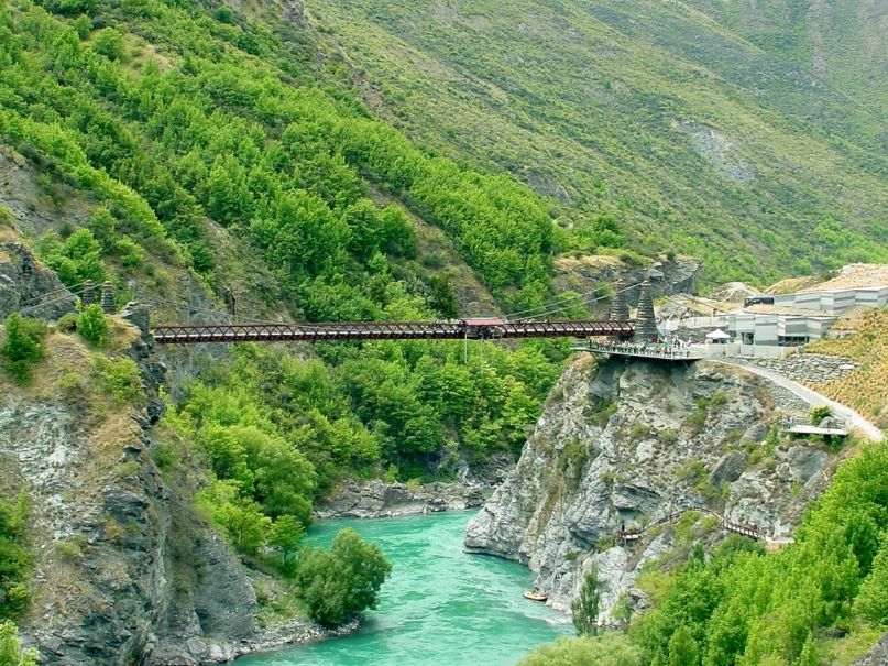 Kawarau Bridge Queenstown, New Zealand