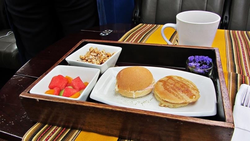 Peru rail food