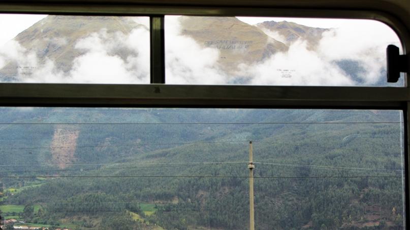 Peru rail view