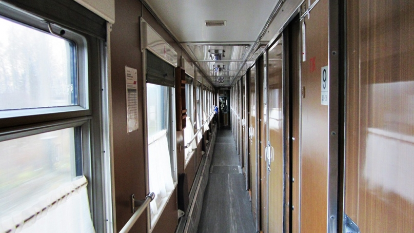 Trans Mongolia train interior