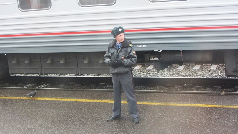 Trans Mongolia train security