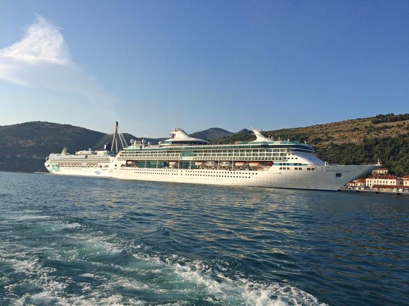 Cruiseships Dubrovnik