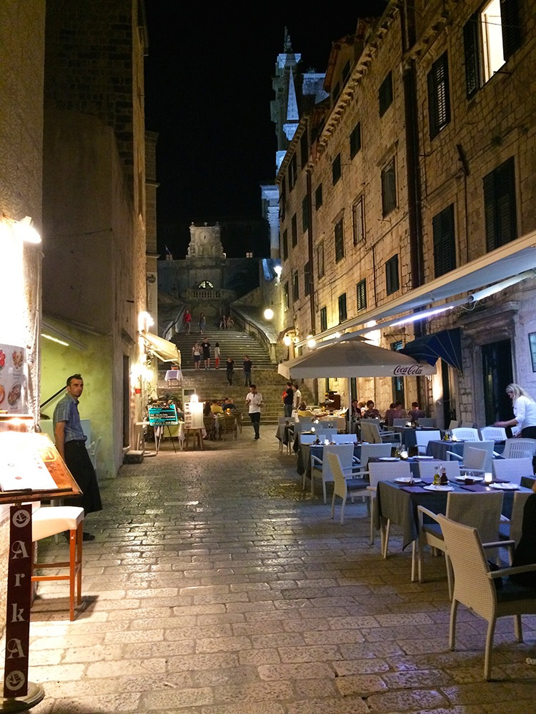 Fancy restaurant Dubrovnik