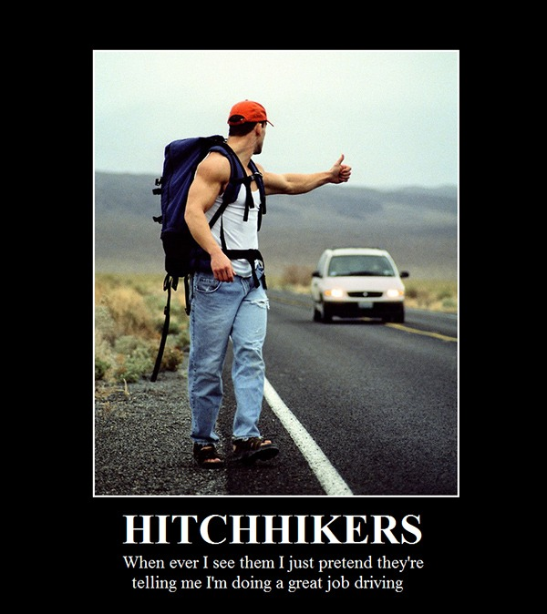 Hitchhiker funny