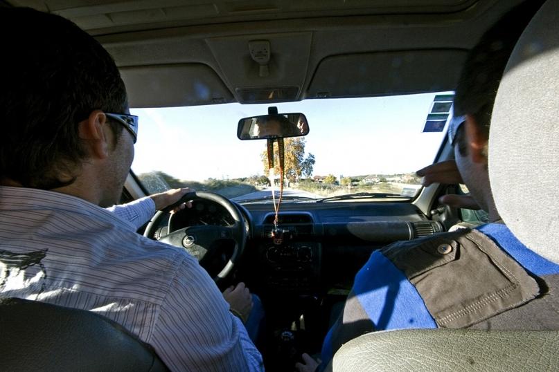 Hitchhiker passenger seat