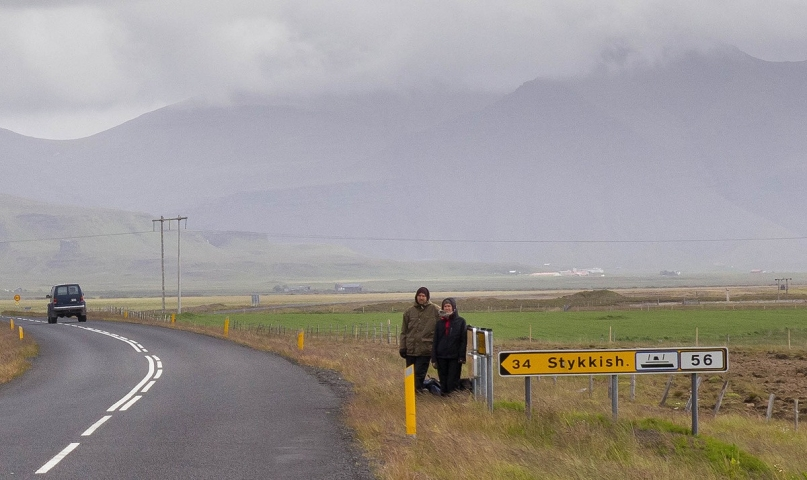 Hitchhikers Iceland