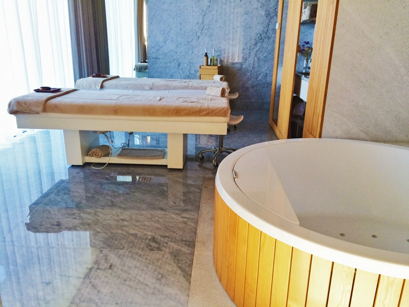 Hotel Minho massage room