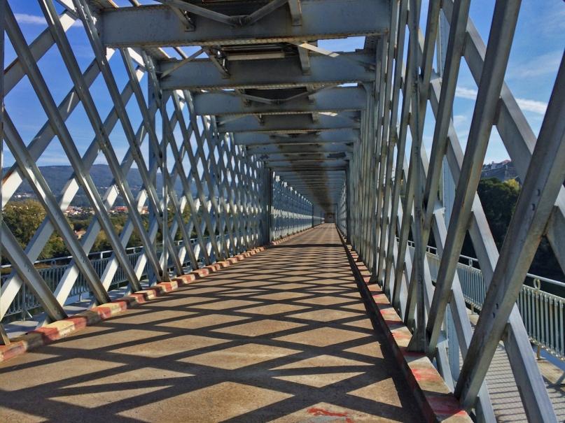 International bridge Valença to Tui
