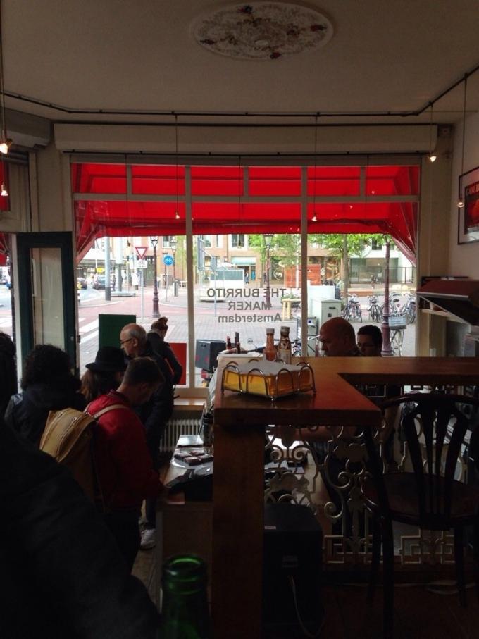 Burritomaker Amsterdam Haarlemmerplein