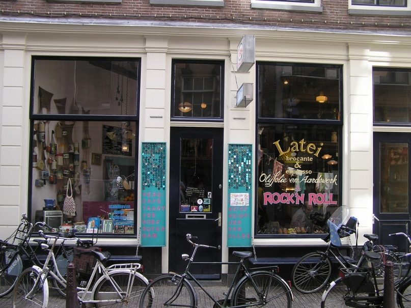 Latei Amsterdam outside