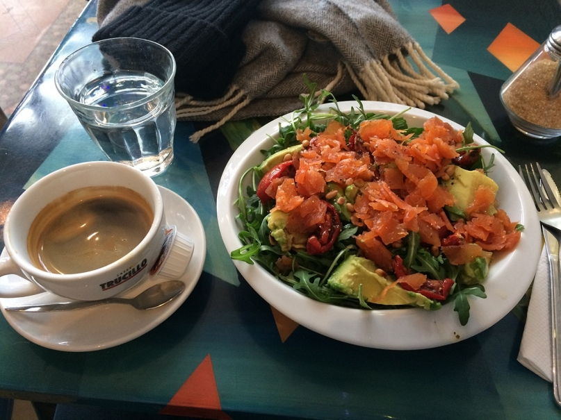 Foodism Salmon Salad