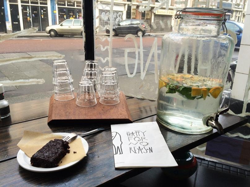 Trust Amsterdam menu