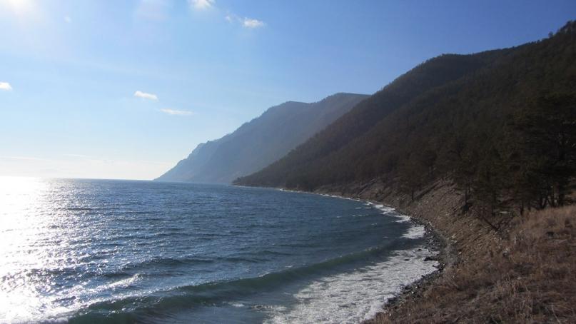 Olkhon Island shore