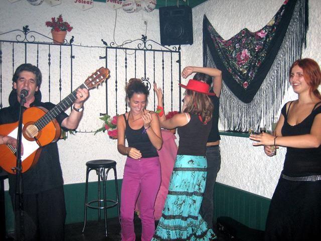 Valencia flamenco dancing