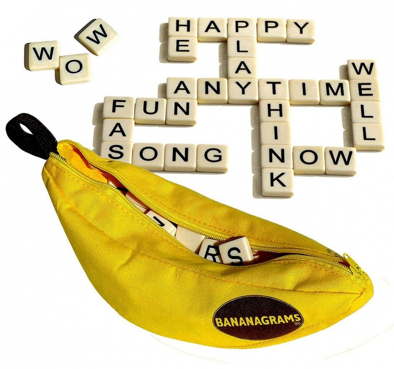 Bananagrams board game for adults