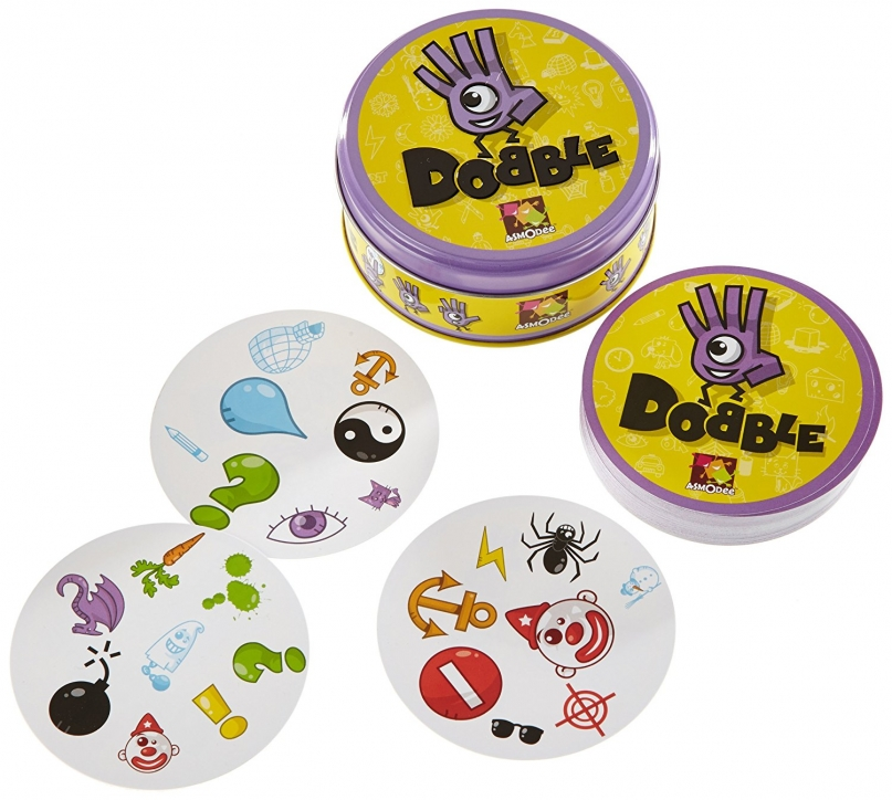 Dobble travel card game